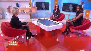 Sophie Davant, Delphine Wespiser et Flora Coquerel dans Toute une Histoire - 28/01/15 - 12
