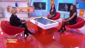 Sophie Davant, Delphine Wespiser et Flora Coquerel dans Toute une Histoire - 28/01/15 - 19