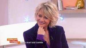 Sophie Davant dans Toute une Histoire - 02/02/15 - 02