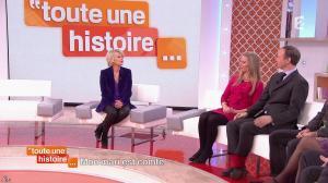 Sophie Davant dans Toute une Histoire - 02/02/15 - 04