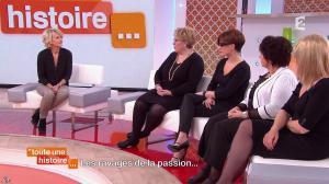 Sophie Davant dans Toute une Histoire - 09/02/15 - 04