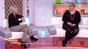 Sophie Davant dans Toute une Histoire - 09/02/15 - 05