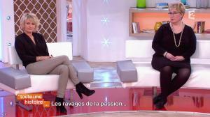 Sophie Davant dans Toute une Histoire - 09/02/15 - 06
