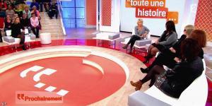 Sophie Davant dans Toute une Histoire - 23/01/15 - 01