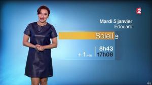 Anaïs Baydemir à la Météo de 20h - 04/01/16 - 11