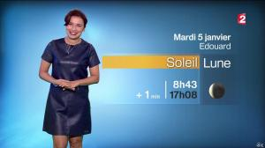 Anaïs Baydemir à la Météo de 20h - 04/01/16 - 12