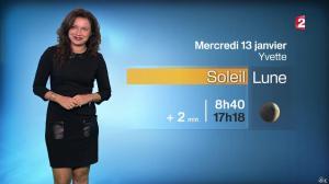 Anaïs Baydemir à la Météo de 20h - 12/01/16 - 08
