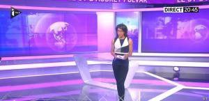 Audrey Pulvar dans le JT - 12/11/15 - 06