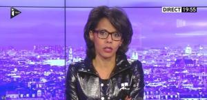 Audrey Pulvar dans le JT - 31/12/15 - 01