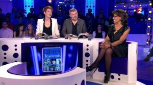 Audrey Pulvar dans On n'est pas Couché - 19/12/15 - 02