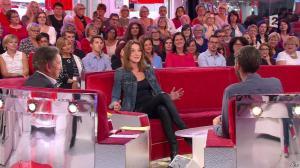 Carla Bruni dans Vivement Dimanche - 04/10/15 - 03