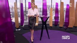 Claire Chazal dans Entree Libre - 19/02/16 - 06