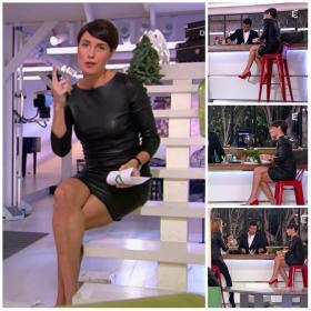Collage de Alessandra Sublet dans C à Vous - 28/11/12 - 3