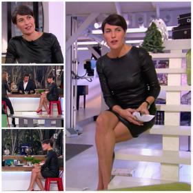 Collage de Alessandra Sublet dans C à Vous - 28/11/12 - 4