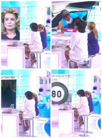 Collage de Audrey Pulvar dans le Grand 8 - 11/05/15 - 02