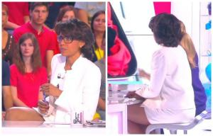 Collage de Audrey Pulvar dans le Grand 8 - 11/05/15 - 14