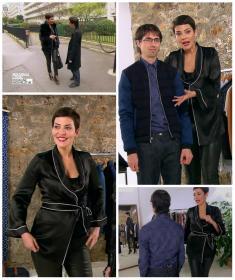 Collage de Cristina Cordula dans Nouveau Look pour une Nouvelle Vie - 14/12/15 - 8