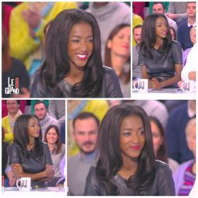 Collage de Hapsatou Sy dans le Grand 8 - 04/03/15 - 4