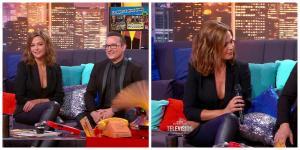 Collage de Sandrine Quétier dans la Grande Histoire de la télévision - 08/01/16 - 2