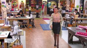 Cristina Cordula dans Cousu Main - 23/01/16 - 12