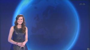 Daniela Prepeliuc à la Météo i>Télé - 01/04/16 - 01