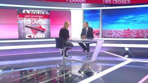 Laurence Ferrari dans Tirs Croisés - 19/04/16 - 013