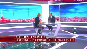Laurence Ferrari dans Tirs Croisés - 19/04/16 - 076
