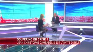 Laurence Ferrari dans Tirs Croisés - 19/04/16 - 077