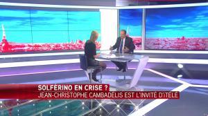 Laurence Ferrari dans Tirs Croisés - 19/04/16 - 078
