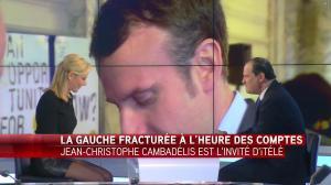Laurence Ferrari dans Tirs Croisés - 19/04/16 - 085