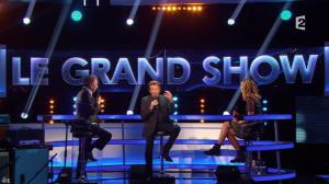 Louane dans le Grand Show de Johnny Halliday - 28/11/15 - 04