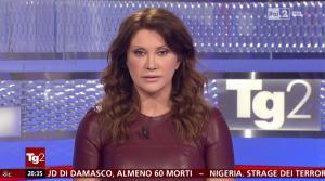 Manuela Moreno dans Il Tg 2 - 31/01/16 - 03