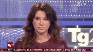 Manuela Moreno dans Il Tg 2 - 31/01/16 - 04