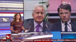 Manuela Moreno dans Il Tg 2 - 31/01/16 - 05
