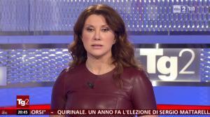 Manuela Moreno dans Il Tg 2 - 31/01/16 - 06