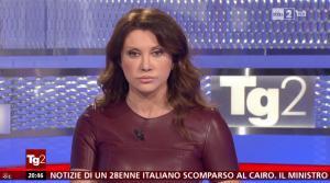 Manuela Moreno dans Il Tg 2 - 31/01/16 - 07