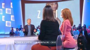 Zahia Dehar dans le Grand Journal de Canal Plus - 16/06/15 - 04