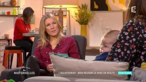 Agathe Lecaron dans la Maison des Maternelles - 01/12/16 - 01