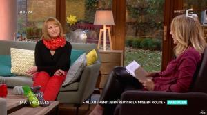 Agathe Lecaron dans la Maison des Maternelles - 01/12/16 - 02