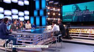 Alice Darfeuille et Leïla Bekhti dans le Grand Journal - 28/11/16 - 04
