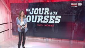 Amélie Bitoun dans un Jour aux Courses - 07/02/17 - 01