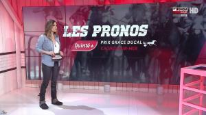 Amélie Bitoun dans un Jour aux Courses - 07/02/17 - 03