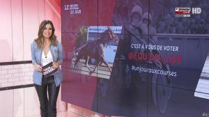 Amélie Bitoun dans un Jour aux Courses - 07/02/17 - 04