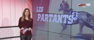Amélie Bitoun dans un Jour aux Courses - 09/01/17 - 04