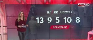 Amélie Bitoun dans un Jour aux Courses - 09/01/17 - 12