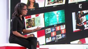 Audrey Pulvar dans Vivement la Télé - 19/02/17 - 04