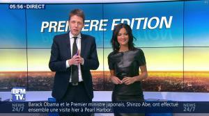 Aurélie Casse dans Premiere Edition - 28/12/16 - 02