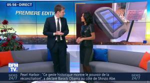 Aurélie Casse dans Premiere Edition - 28/12/16 - 06