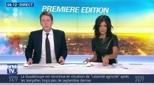 Aurélie Casse dans Première Edition - 28/12/16 - 15