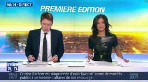 Aurélie Casse dans Première Edition - 28/12/16 - 17